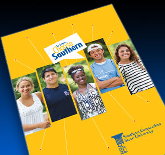 The cover of the SCSU Viewbook 2013