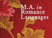 m.a. in romance languages