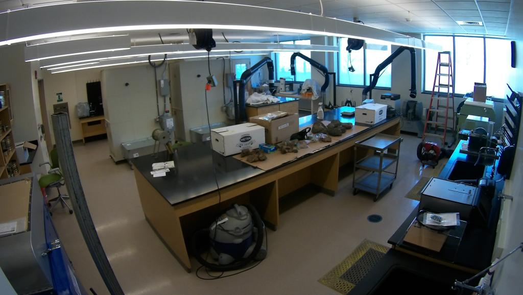 Rock Preparation Lab