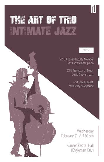 The Art of Trio - Intimiate Jazz - February 2, 2018 at 7:30pm
