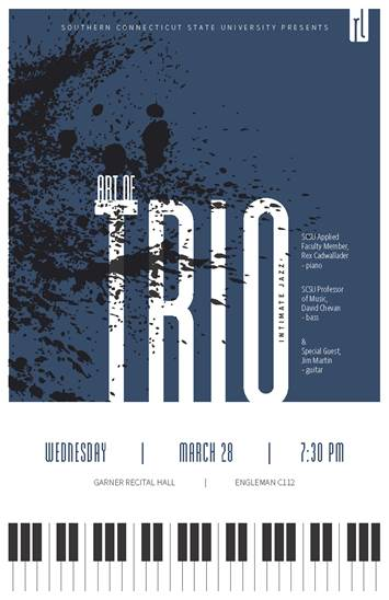 The Art of Trio - Intimiate Jazz - March 28, 2018 at 7:30pm