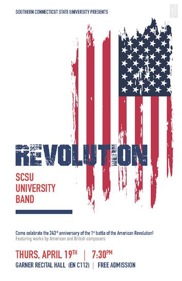 Revolution - SCSU University Band - April 19, 2018 at 7:30pm