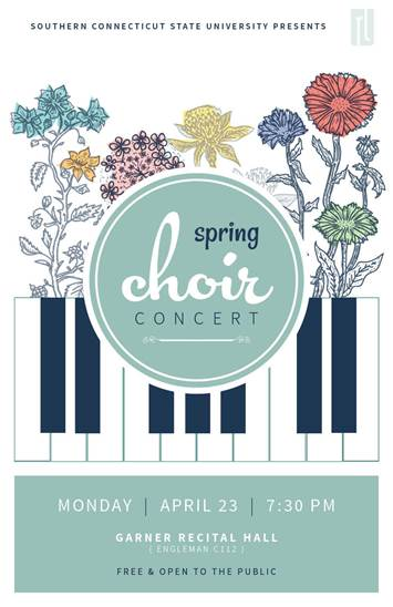 Spring Choir Concert - April 23, 2018 at 7:30pm