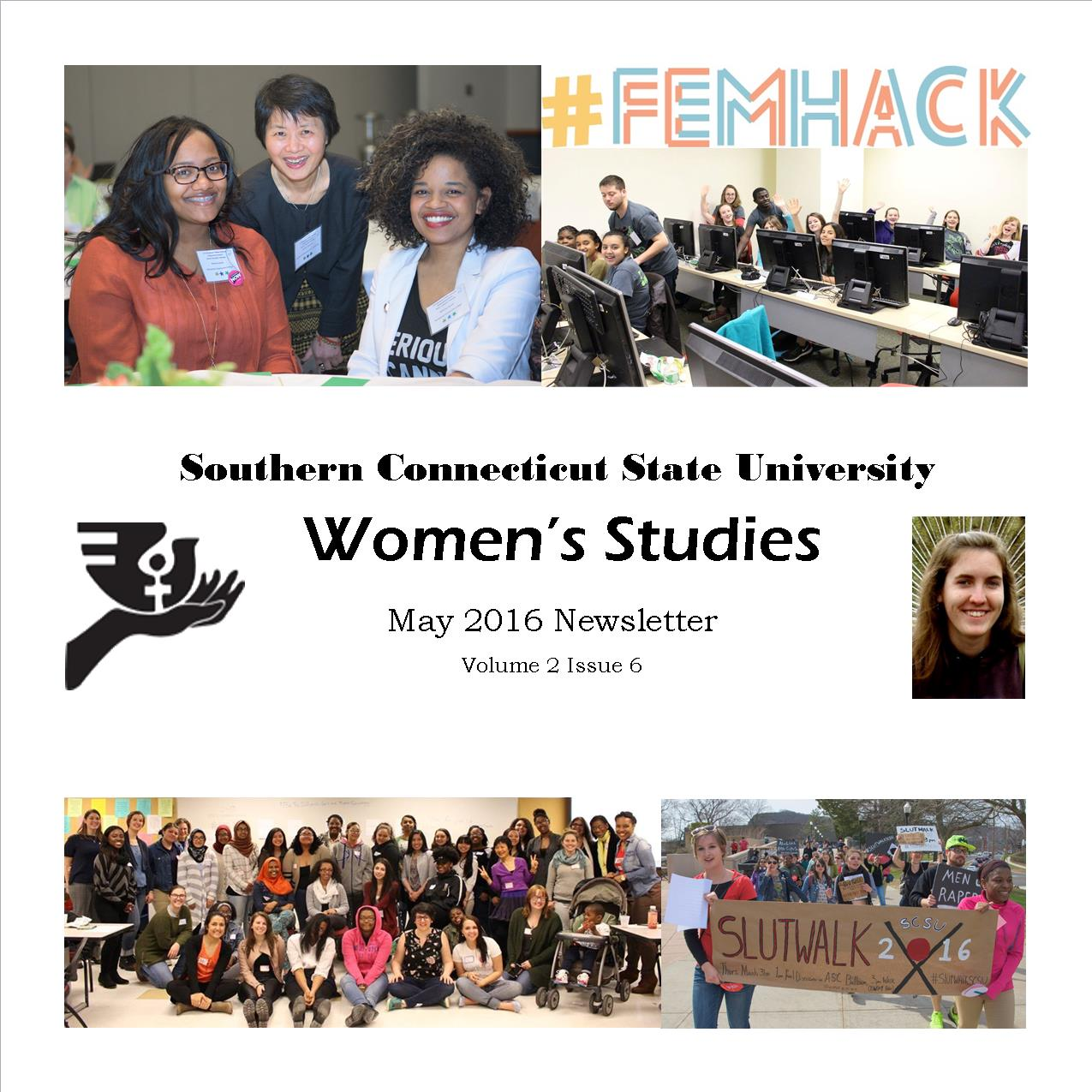Women's Studies Cover Page May Newsletter
